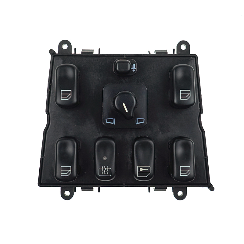 Car Electric Power Window Master Switch Button for Mercedes-Benz ML <font><b>W163</b></font> ML320 ML430 1998-2002 1998 1999 1638206610 image