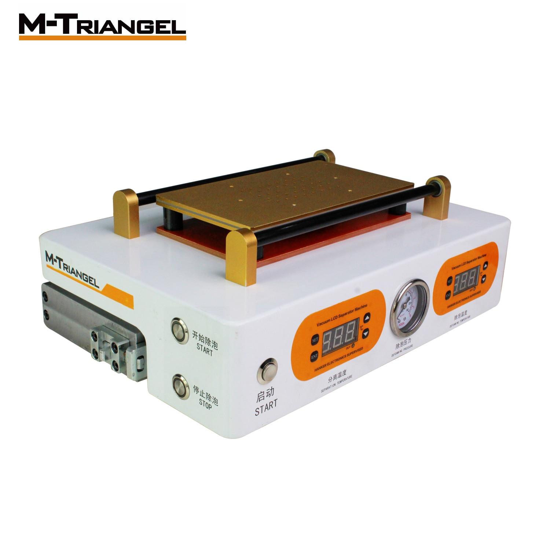M-triangel 7 pouces écran Machine réparation LCD séparateur Machine téléphone réparation outils écran réparation Machine bulle supprimer