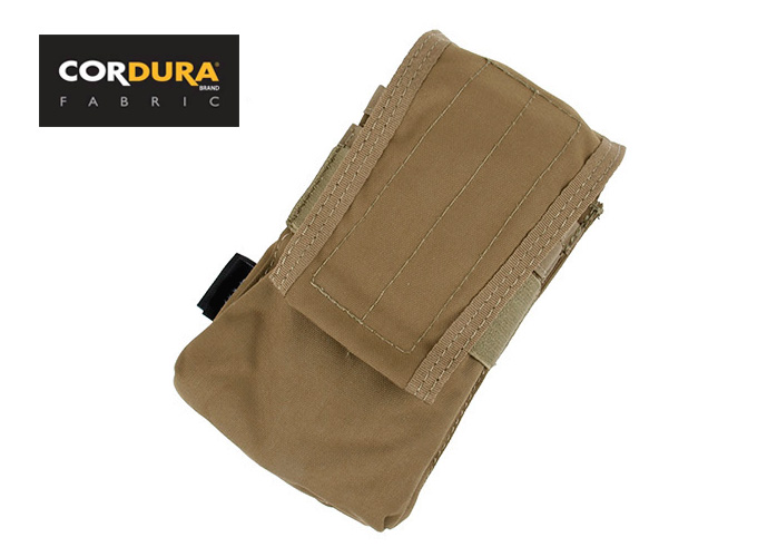Double Magazine Pouch HK417 MOLLE Magazine Pouch Coyote Brown+Free shipping(XTC050976)