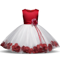 Children S Clothing 5 6 7 Year Birthday Party Girls One Piece Dress Stars Sequins Tulle