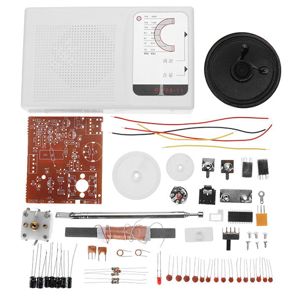1Set DIY FM AM Radio CXA1691 Students Soldering Practice Set Electronic Production Kit Learning Kit