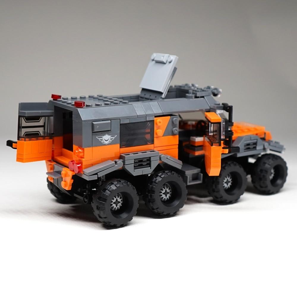 529pcs 8x8 ATV Technic Car Model Building Blocks Bricks Toys 23006 Hatchback...