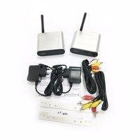 2.4GHz Wireless Video Transmitter Receiver Support IR Remote Signal Transmission TV Box Wireless Sharing Transmitter Receiver