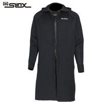 SLINX 3 мм неопрена с длинным рукавом плавание гидрокостюм Для мужчин Утепленная одежда подводной охоты Дайвинг Кайтсерфинг Гидрокостюмы мок