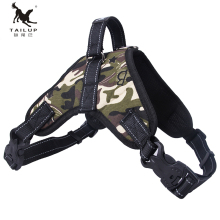 Dog Vest Collar Harnesses Pet Products for Dog Harness Glowing Led Collar Puppy Lead Pets Dog Leads Chest Straps Accessories