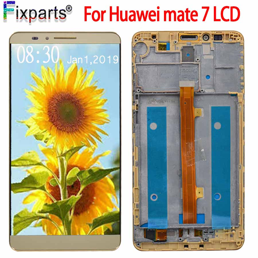 6.0 Huawei mate 7 LCD Display+Touch Screen Digitizer Assembly Replacement Parts Screen For  Huawei mate7 LCD Free Shipping6.0 Huawei mate 7 LCD Display+Touch Screen Digitizer Assembly Replacement Parts Screen For  Huawei mate7 LCD Free Shipping