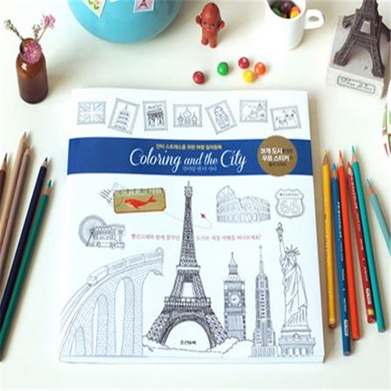 Coloring And The City Coloring Books For Adults Children