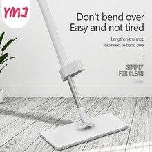 יד לשטוף משלוח Mop מילוי מלבן שטוח מגבים Rotatable אלומיניום ידית רצפת ניקוי חפץ ביתי רצפת מנקה