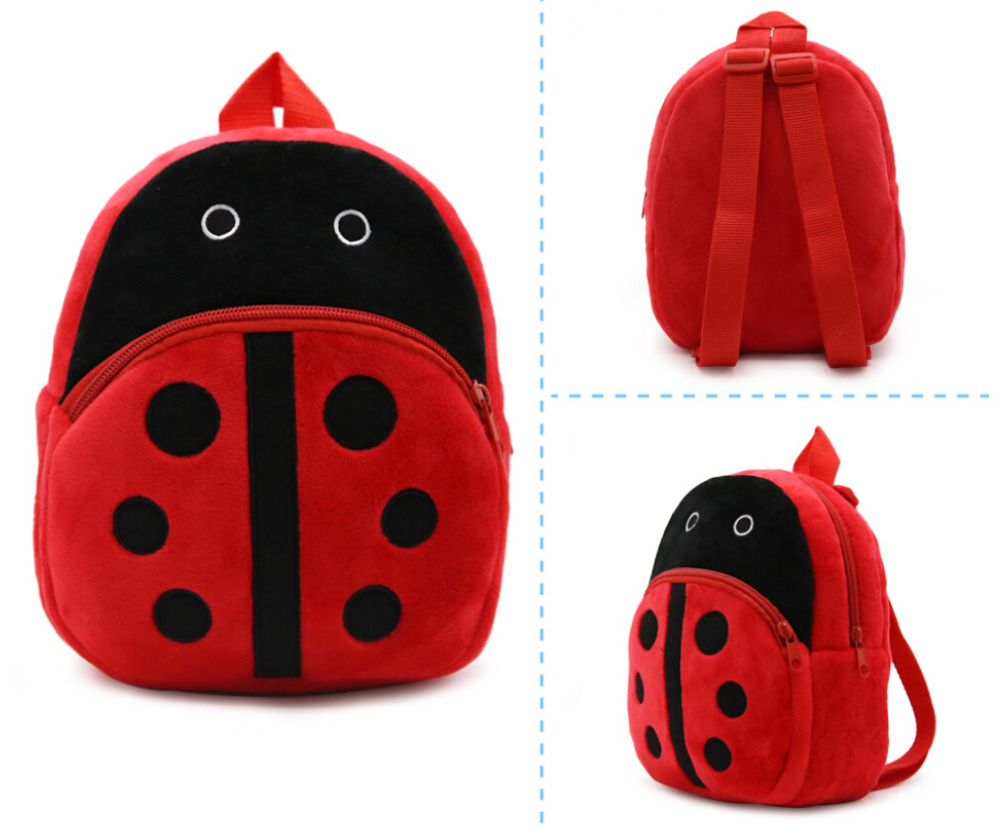 2018 Rushed Backpack School Bags Cute Baby Plush Bag Child 3d Schoolbags Anime Pattern 9 Zipper Kids Backpack Travel Gift For