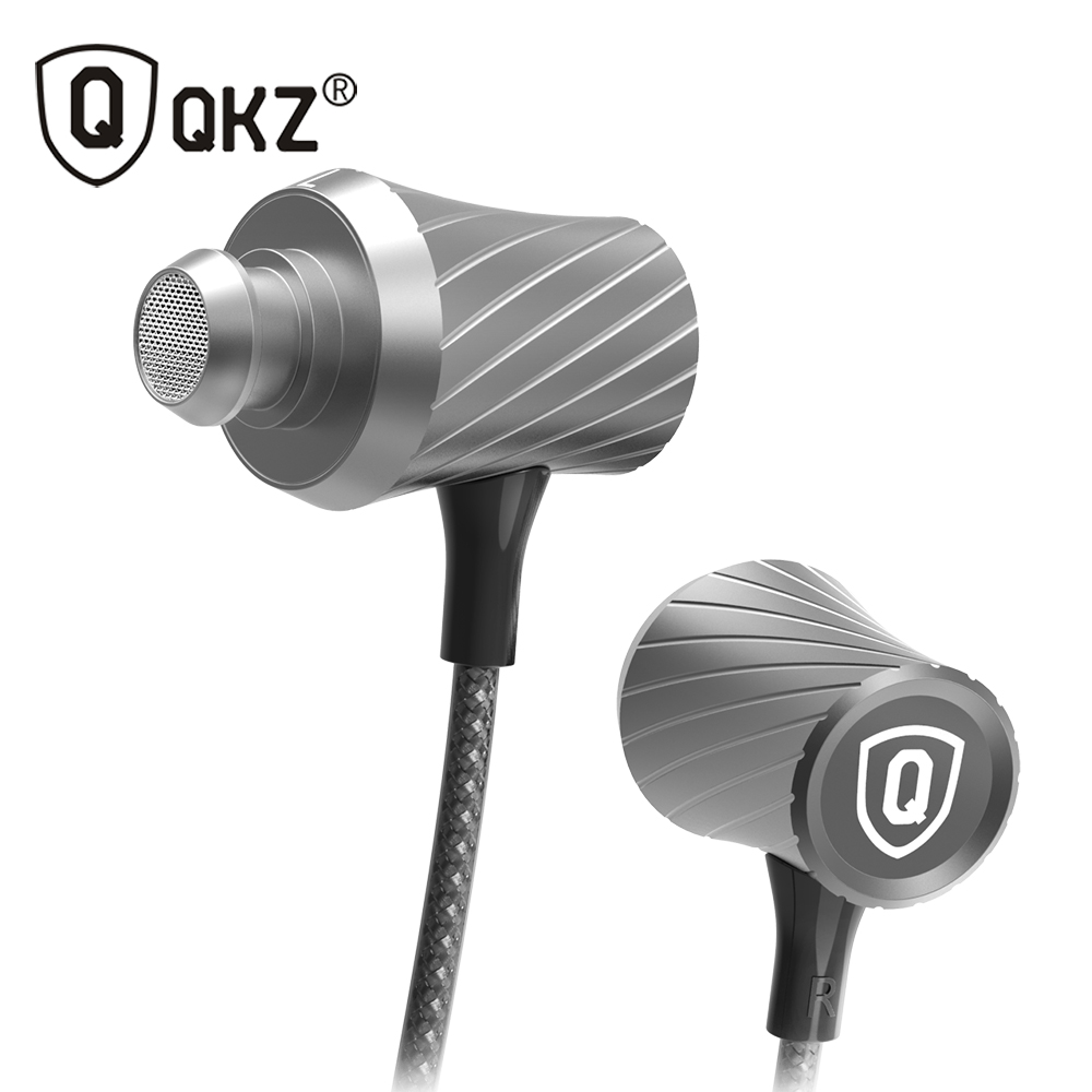 Earphone Original QKZ-X9 Supper Bass In-ear Earphones Headset With Mic For iPhone Samsung MP3 MP4 fone de ouvido audifonos