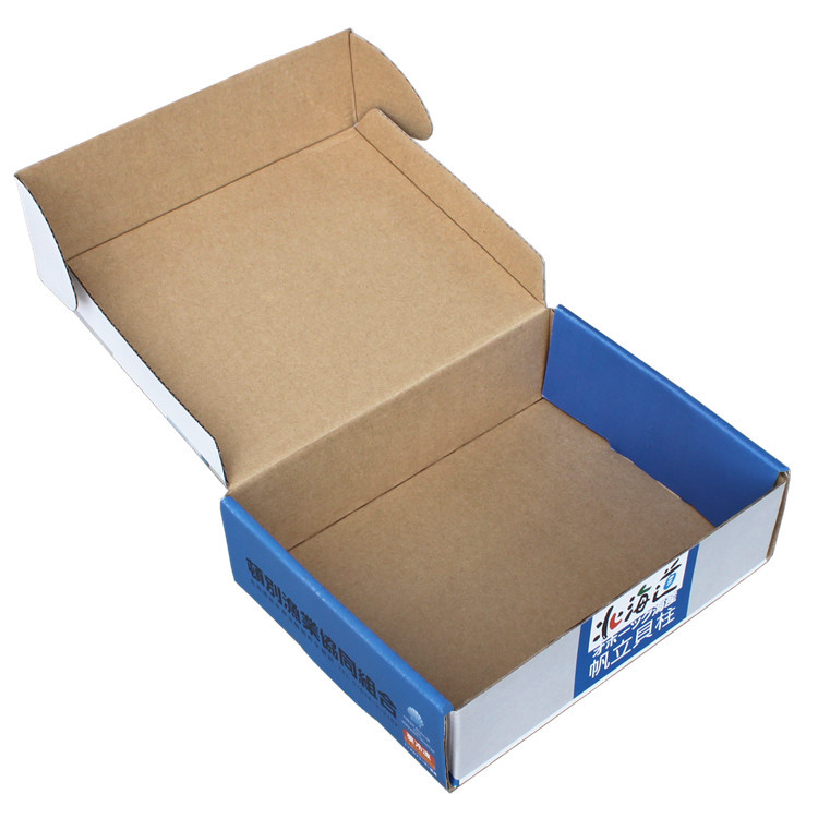 Custom Box, Add Print Logo Kraft Paper/ Corrugated Paper