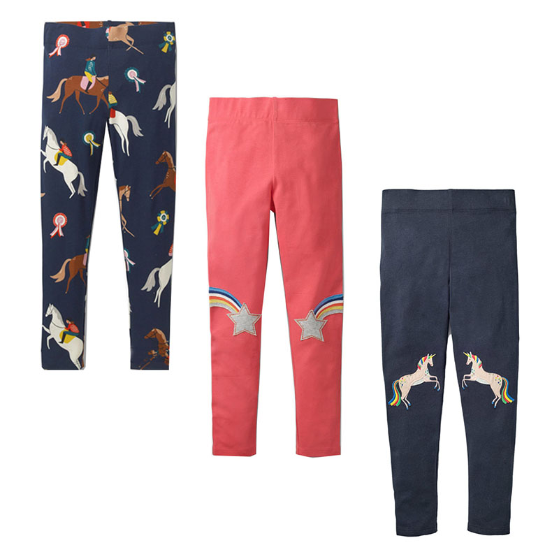 3PCS Toddler Leggings Fille Baby Girls Pants Animal Pattern Clothes Kids Cotton Leggings for Girls Trousers Children Leggings