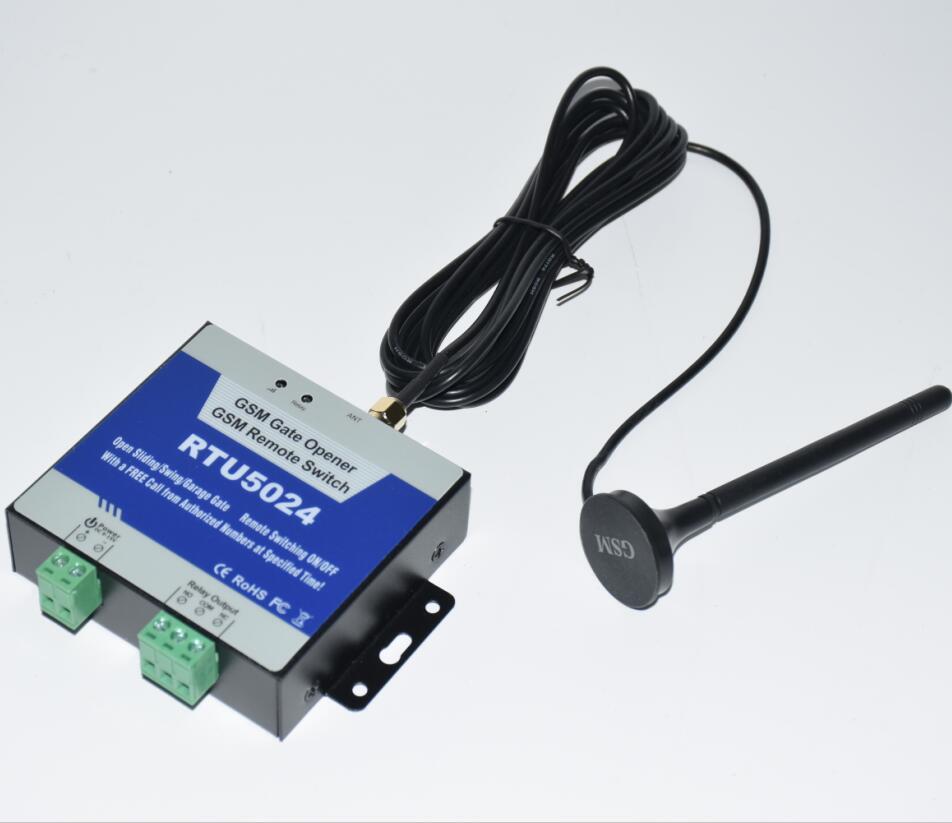 RTU5024 relé gsm chamada sms controle remoto portão gsm abridor interruptor para controlar eletrodomésticos (RTU 5024) sistemas de estacionamento