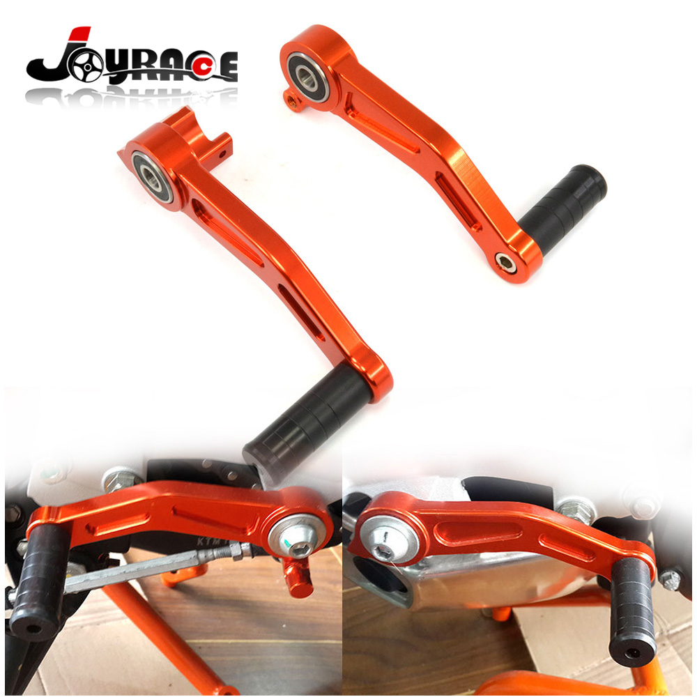 CNC Aluminium Motorcycle Brake Clutch Gear Pedal Lever For KTM Duke 125 / 200 / 390 for ktm duke rc 125 200 390 motorcycle cnc foot brake pedal lever gear shift levers orange