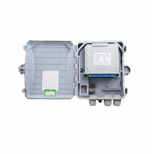 Image 3 - 高品質 8 コア屋外光ファイバ端子箱 8 ポート光ファイバ分配ボックス光ファイバケーブルトレイ