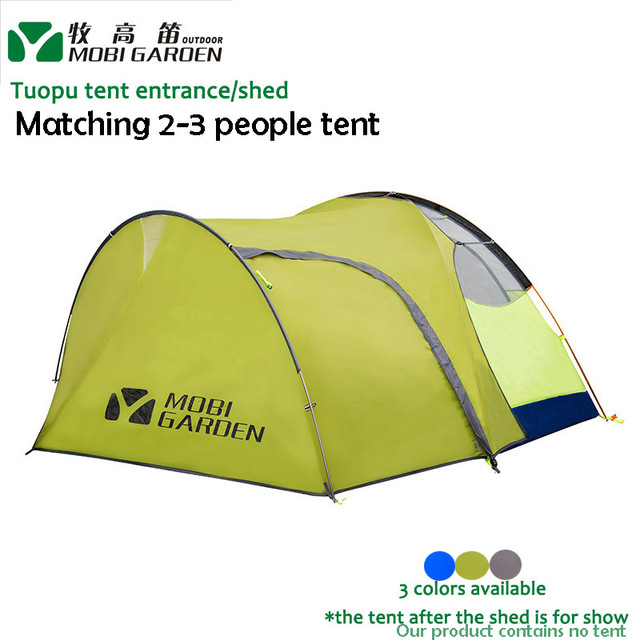 Mobi Garden 210T Tuopu Normal Tent Entrance Shed Vestibule Matching 2-3 people Tent  sc 1 st  AliExpress.com & Mobi Garden 210T Tuopu Normal Tent Entrance Shed Vestibule ...