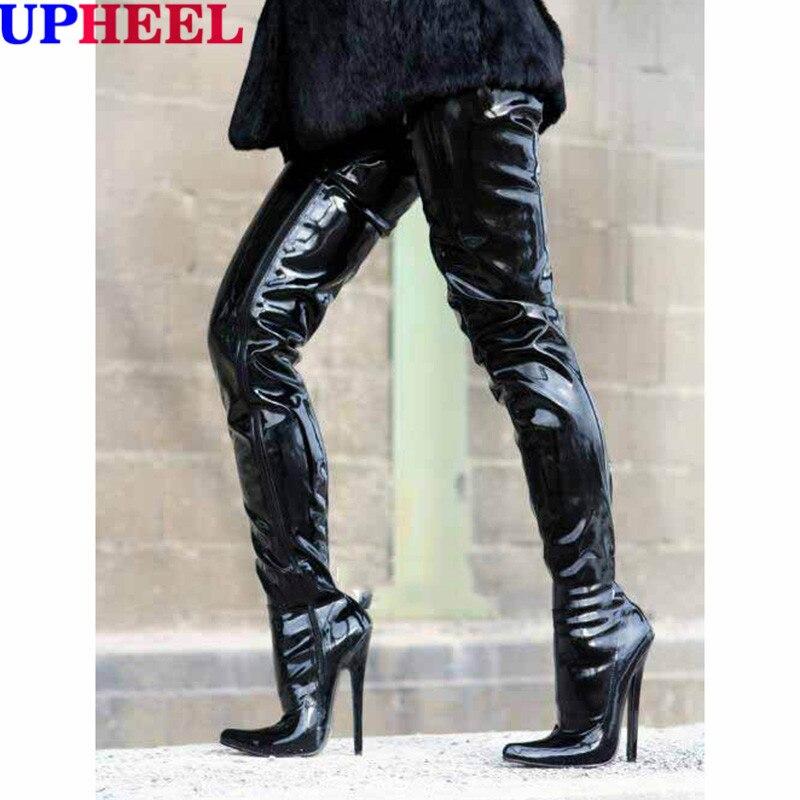 Popular Womens Thigh High Boots Size 7-Buy Cheap Womens Thigh High ...