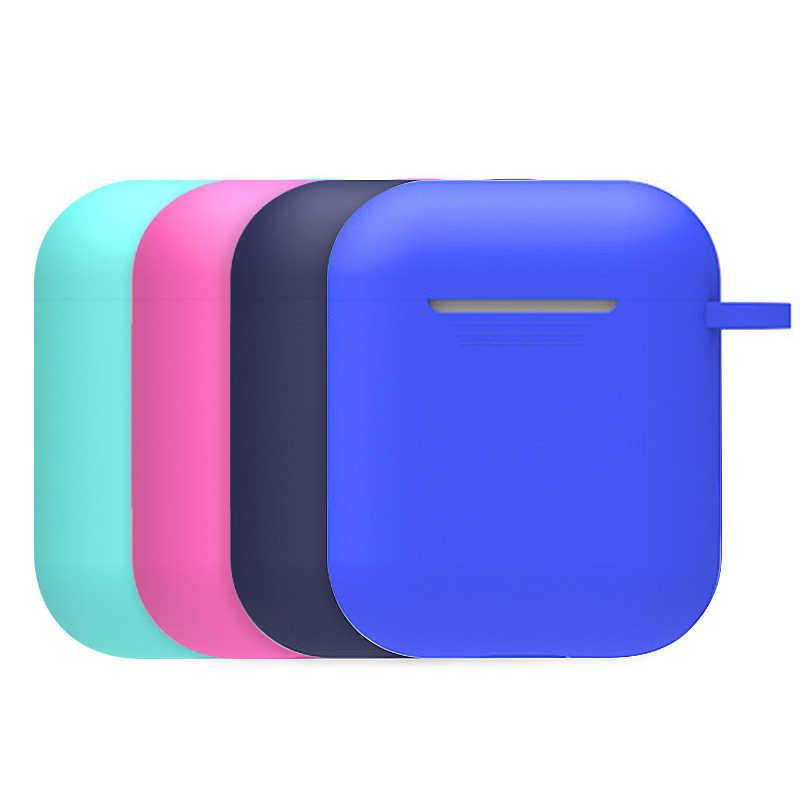 Auriculares de silicona Bluetooth de Airpods aplicables Set cubierta a prueba de caídas con auriculares cuerda antipérdida varios colores