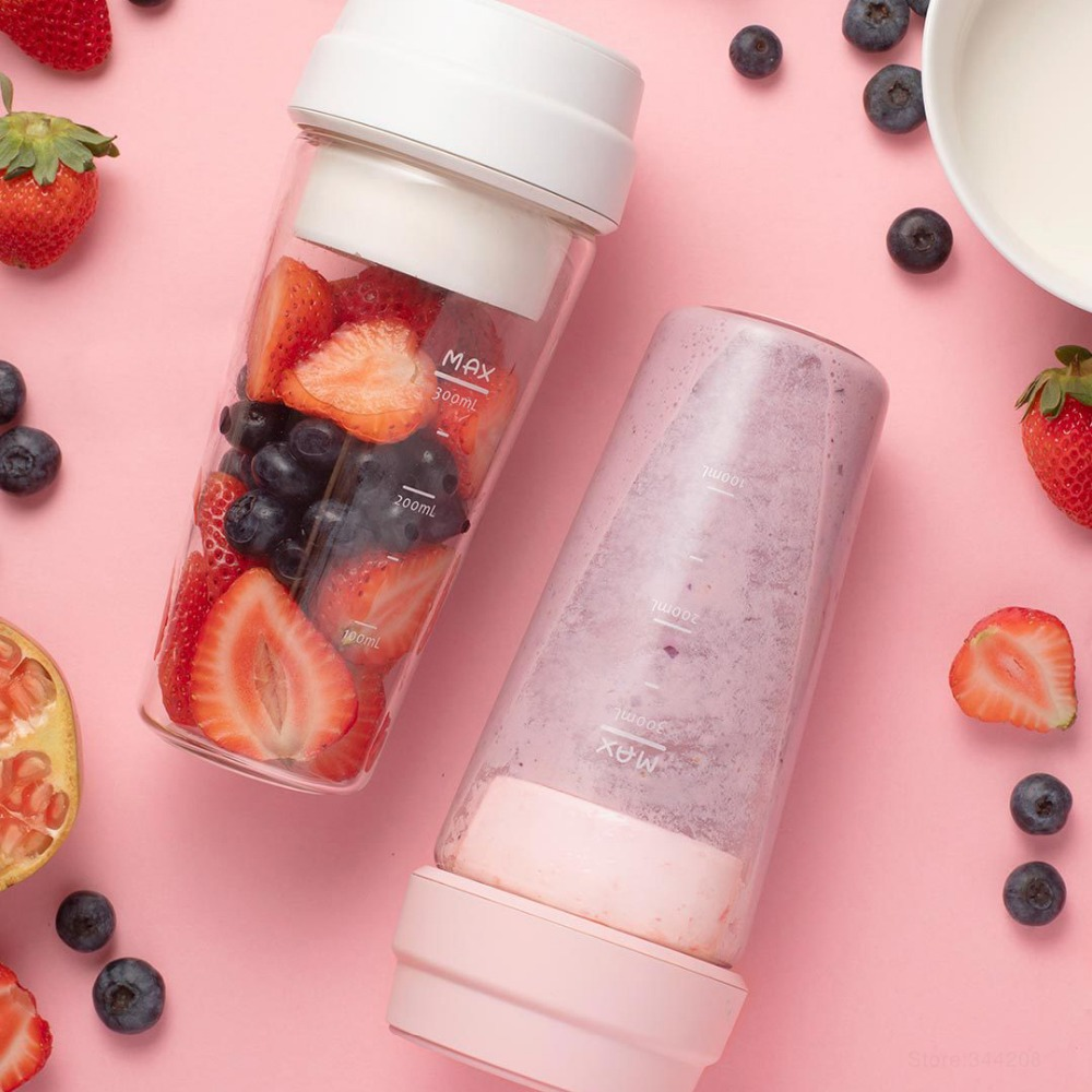 XIAOMI MIJIA 17PIN Star Fruit Cup Small Portable blender Juicer mixer food processor 400ML Magnetic charging XIAOMI MIJIA 17PIN Star Fruit Cup Small Portable blender Juicer mixer food processor 400ML Magnetic charging 30 Seconds Of Quick