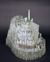 DHL Shipping Lord Of The Rings Related The Hobbit Action Toy Figures Minas Tirith Model Statue