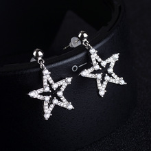 925 silver earrings, Simple five-pointed star earrings Jewelry & Accessories, Fashion Jewelry, Stud Earrings цена 2017