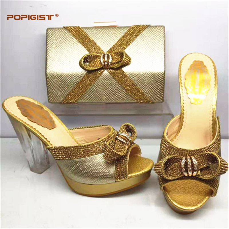 b2b98421e Decorado Tacones Y sliver Imitación Color Diamantes Oro red Damas Bolso  Altos gold Mujer purple De ...