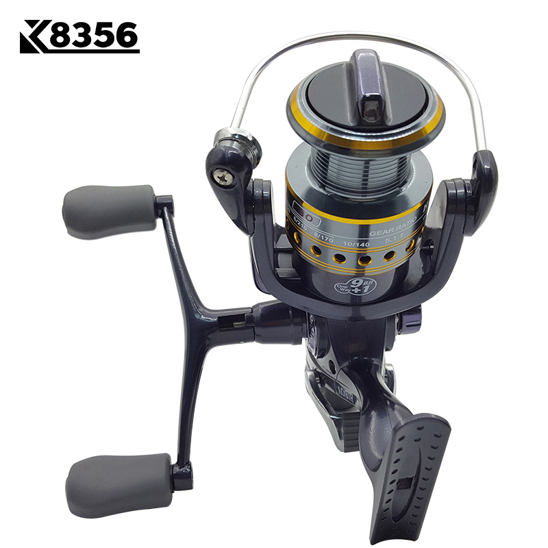 K8356 5 5 1 9 1BB Dual Brake Saltwater Fishing Reel Metal Spool Sea Boat Spinning Carp Fishing Reels With Extra Spool 3000 5000 in Fishing Reels from Sports Entertainment