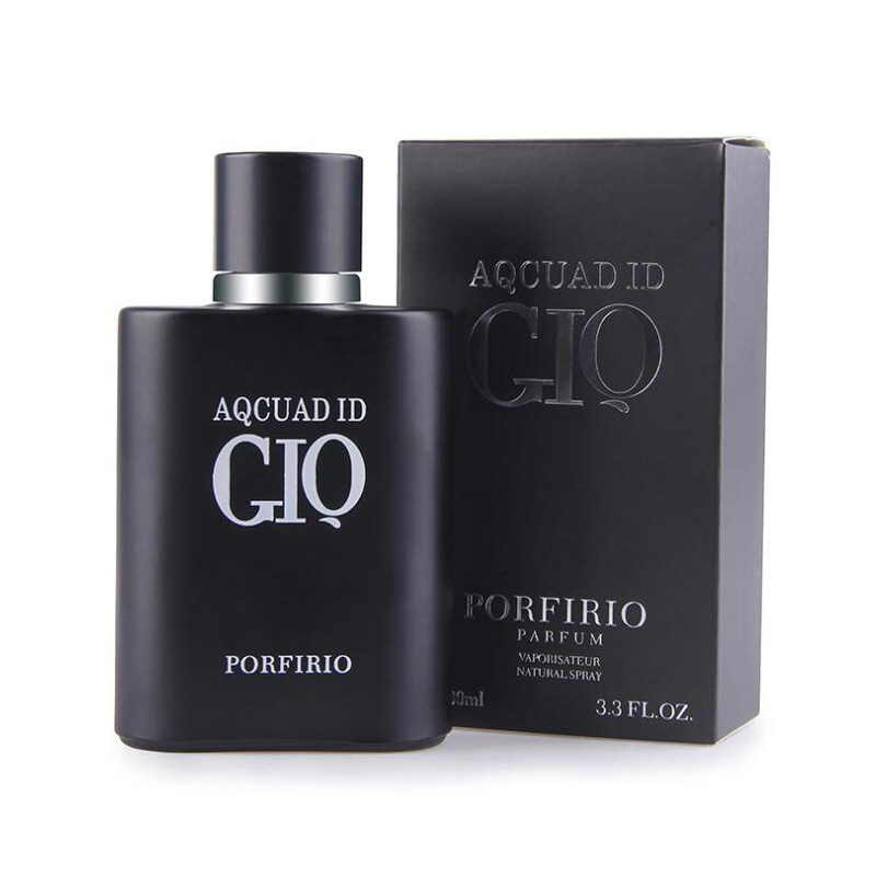 4 Types Original GIQ Gentleman Parfum 100ml  Men Glass Bottle Perfume Lasting Fragrances Liquid Antiperspirant