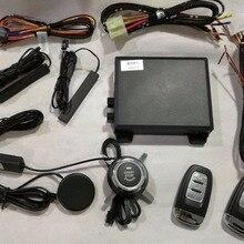 Система PKE Smart Key с пассивным входом без ключа, запуском двигателя и дистанционным запуском, универсальная