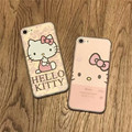 Fashion Cartoon Cute Hello Kity silicon cover case For iPhone 7 7 Plus Phone Fundas For iphone 7 Cases
