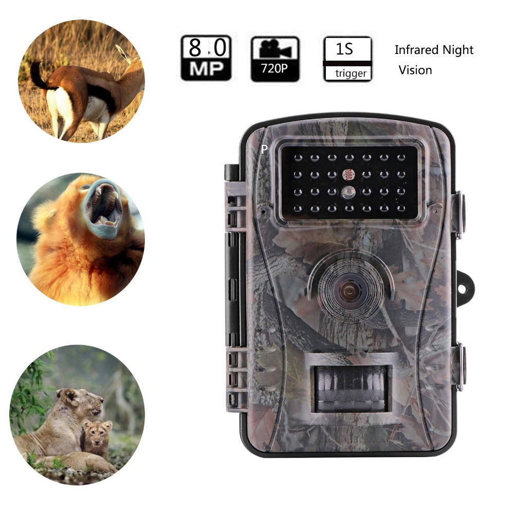 Hunting Trail Camera 720P HD Wildlife Game Cameras RD1003 Night Vision Infrared Sensor Deer Camera hot sale hunting wildlife camera night vision 940nm ir infrared trail cameras game hunter 9282