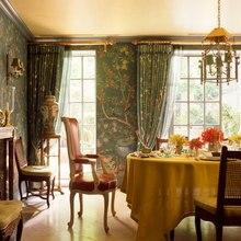 Классический элегантный ручной росписью шелковые обои живопись цветы с птицами много узоров и фон на выбор