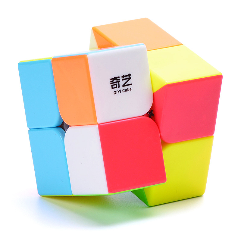 QIYI Professional 2x2x2 5.1CM Speed Mini For Magic Cube Puzzle Fidget Cube Neo Cubo Magico Sticker For Children Educational Toy