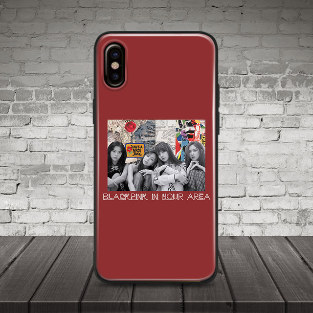 BLACKPINK IN YOUR AREA IPHONE CASE FREE STRAP