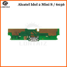 For Alcatel One Touch Idol 2 Mini S OT6036 6036 OT Microphone USB Charger Connector Board Charging Dock Port Flex Cable