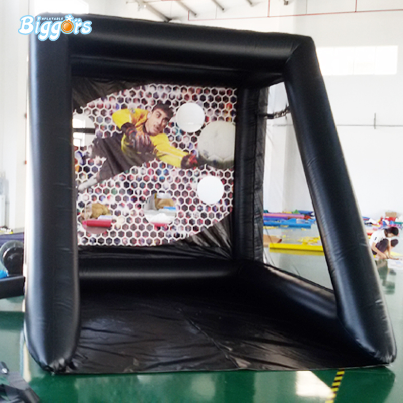 Inflatable soccer kick booth Inflatable Soccer footballShoot Game
