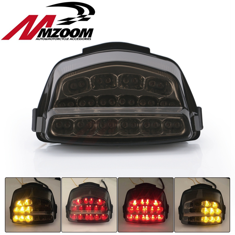 Motorcycle Accessories New Rear LED Integrated Tail Light Signals Smoke Light For Honda CBR 1000 RR 2008 2009 2010 2011 2012