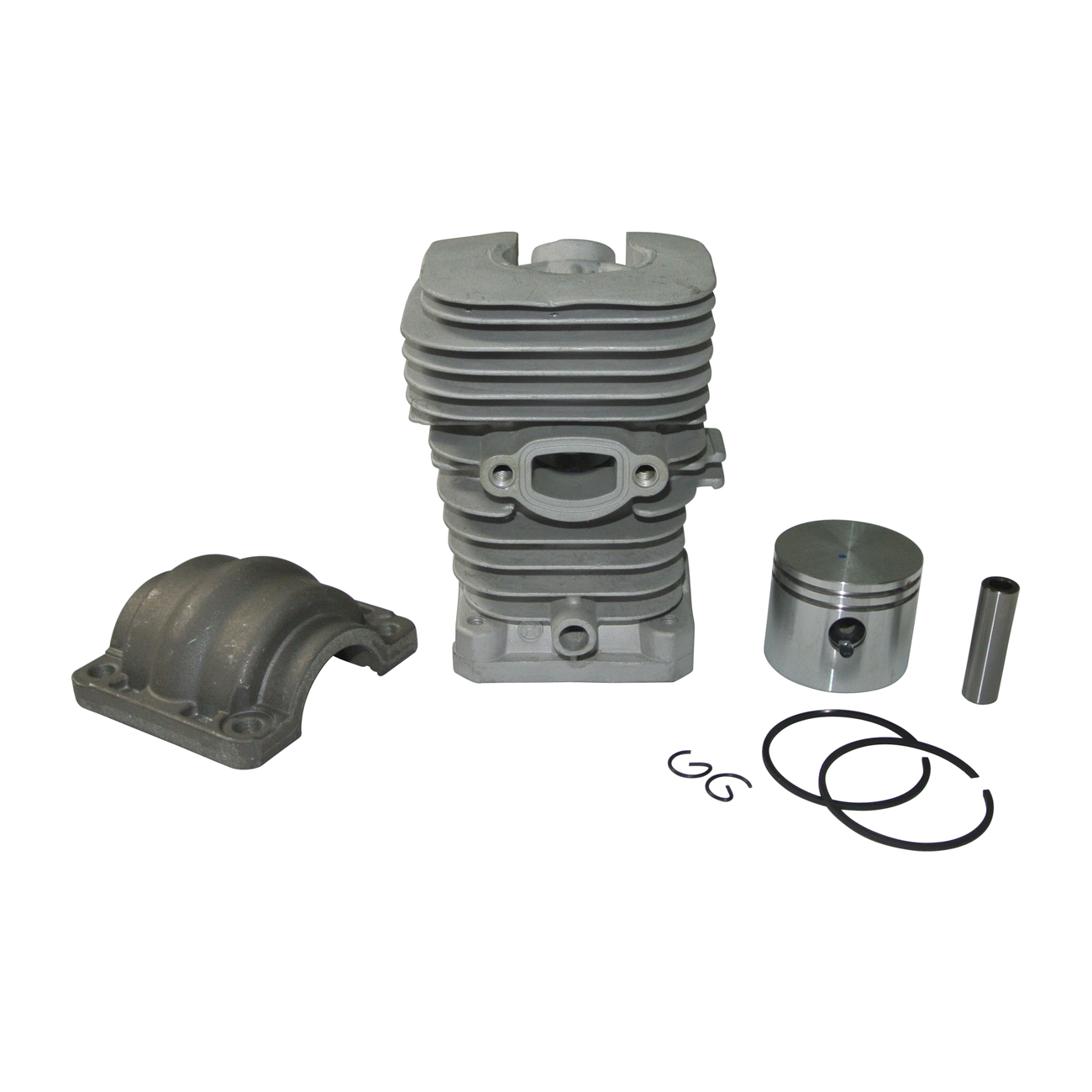 Cylinder Piston For PARTNER 350 351 370 390 420 Poulan 220 221 260 1950 (41mm) цена