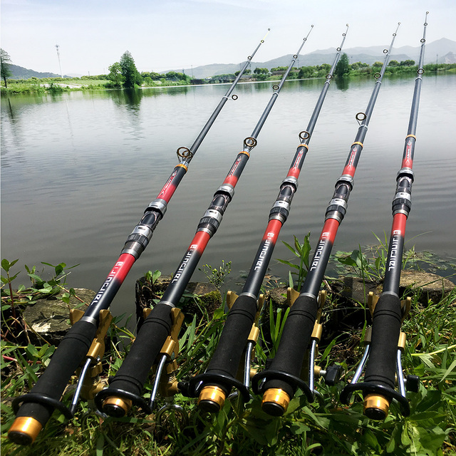 99% Carbon Fiber Telescopic Fishing Rod