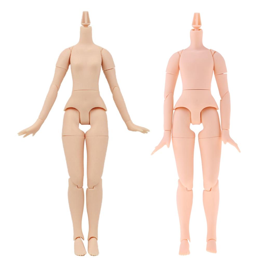 20-Joints Girl + Boy Nude Body Parts for 1/6 Neo Blythe Doll Azone Pure Neemo Custom Use кукла blythe azone momoko6 bjd