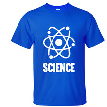 "Awesome ""Science"" + atom logo t-shirt"