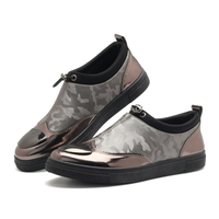 Exotic Summer Men Slip On Camo Moccasins Soft Flat Driving Loafers Hip Hop Cool Cap Toe