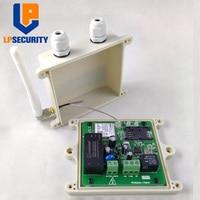 Güvenlik ve Koruma'ten Bina Otomasyonu'de LPSECURITY Su Geçirmez RTU5024 GSM Kapısı Açıcı Röle Anahtarı Uzaktan Erişim Kontrolü Kablosuz Sürgülü kapı Açacağı App desteği