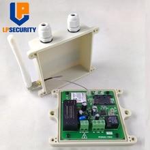 LPSECURITY ouvre porte étanche sans fil, RTU5024 GSM, interrupteur en relais, contrôle daccès à distance, ouvre porte coulissante sans fil, application