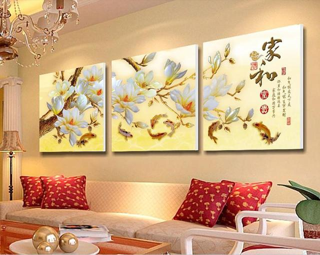 3 Piece Modern Wall Painting Home Decorative Art Picture Paint on ...