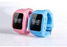 Anti verloren GPS Tracker Uhr für Kinder SOS Notfall GSM Smart Handy App für iOS & Android Karte Smartwatch Armband Alarm