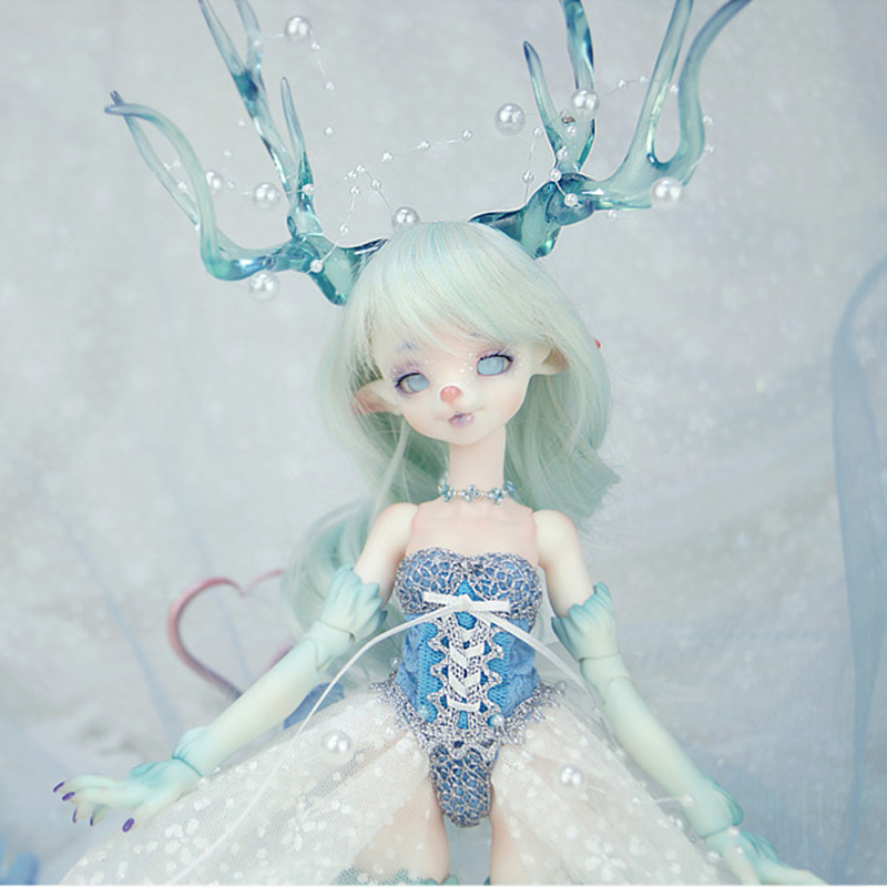 OUENEIFS Dollpamm Ice Arubi BJD SD Dolls 1/6 Resin Figures Body Model Girls Boys High Quality Toys Shop