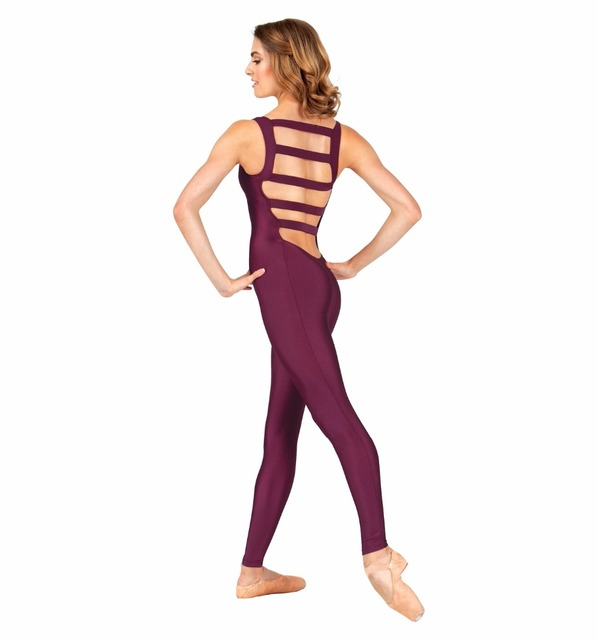 Tank Unitard Elastic Ladder Back  Ballet Dance Unitards Gymnastics Dancewear Lycra Suit