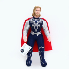 цена 2017 Christmas Gifts Toys 25cm 40cm Movies marvel thor Action Figure Model Captain America Thor Marvel Avengers Figure Toys онлайн в 2017 году