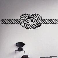 Marine Knot Wall Vinyl Decal Sea Nautical Wall Sticker Home Wall Art Decor Ideas Wall Interior